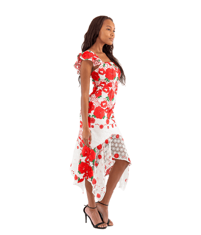 FINAL SALE Roses are Red Dress - Lady Jetset