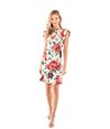 Peony Print Cady Dress - Lady Jetset