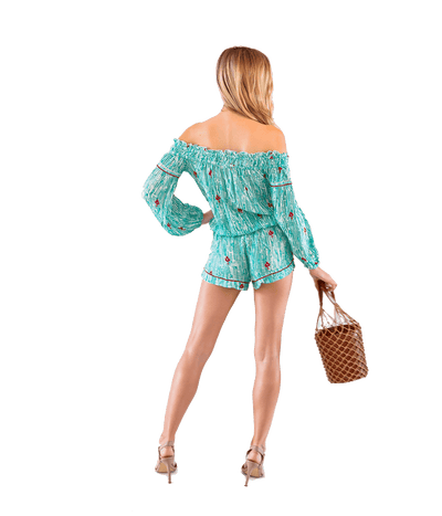 FINAL SALE Clara Short Jumpsuit - Lady Jetset
