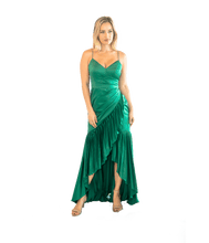 Load image into Gallery viewer, Sharona Pleated Gown - Lady Jetset