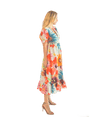 Greta Dress - Gardenia Print - Lady Jetset
