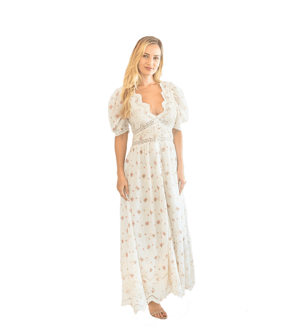 Stacy Dress- French Cream - Lady Jetset