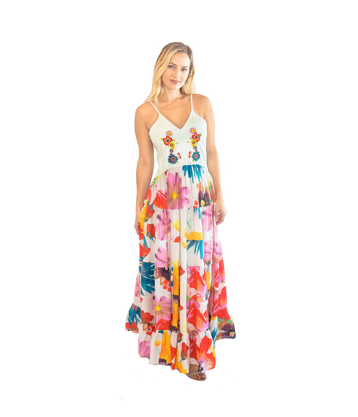 Marieta Maxi Dress - Lady Jetset