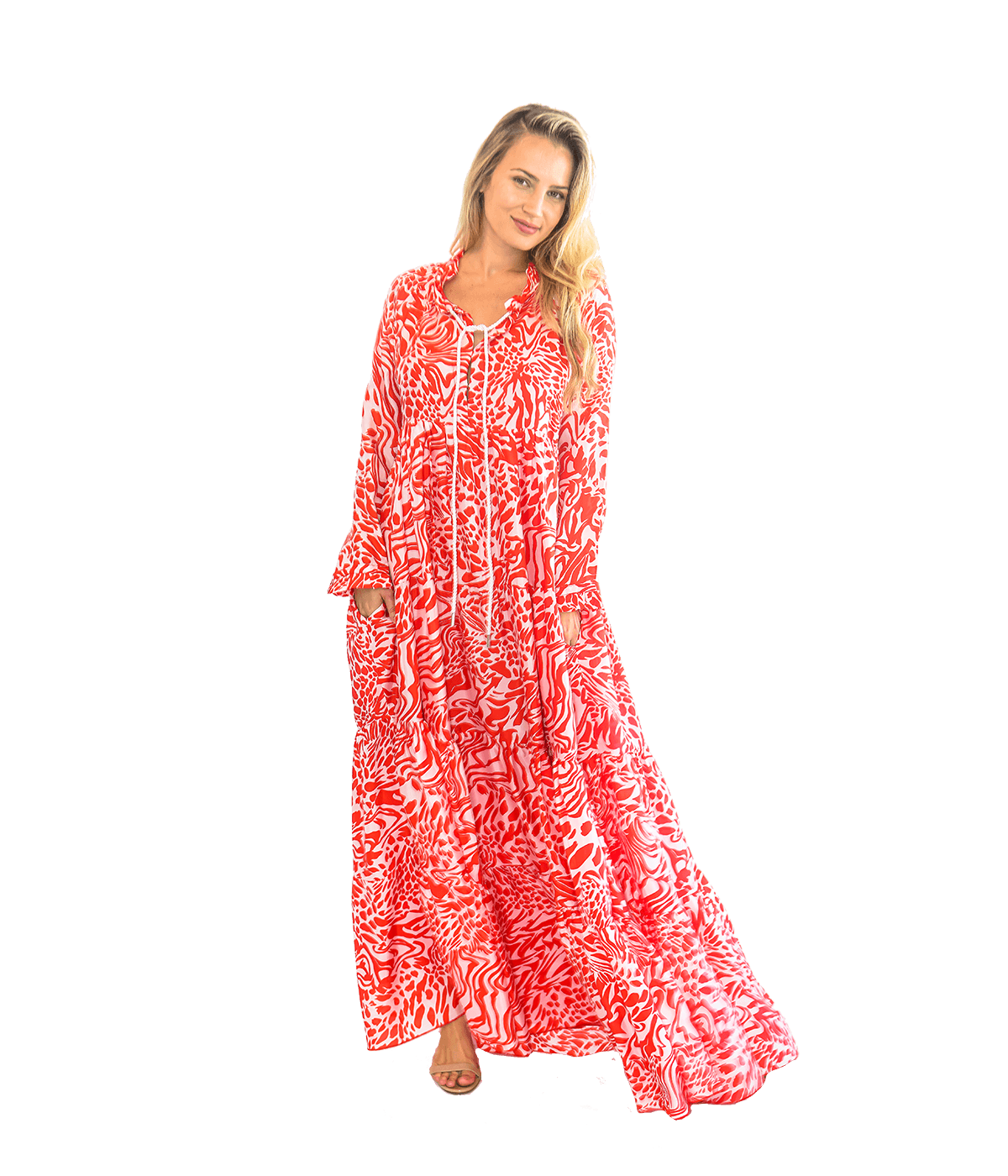 FINAL SALE Cora Caftan - Lady Jetset