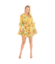 Load image into Gallery viewer, FINAL SALE Zebrina Print Wrap Top - Lady Jetset
