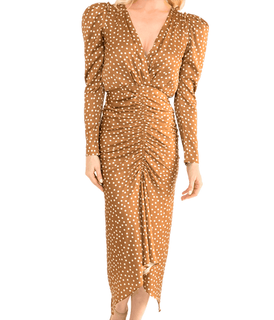 Astrid Dress - Pecan - Lady Jetset