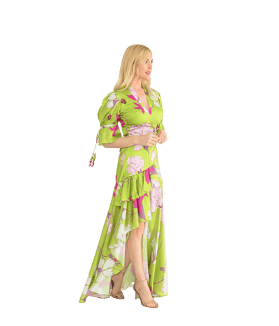 Passion Flower Dress - Lady Jetset
