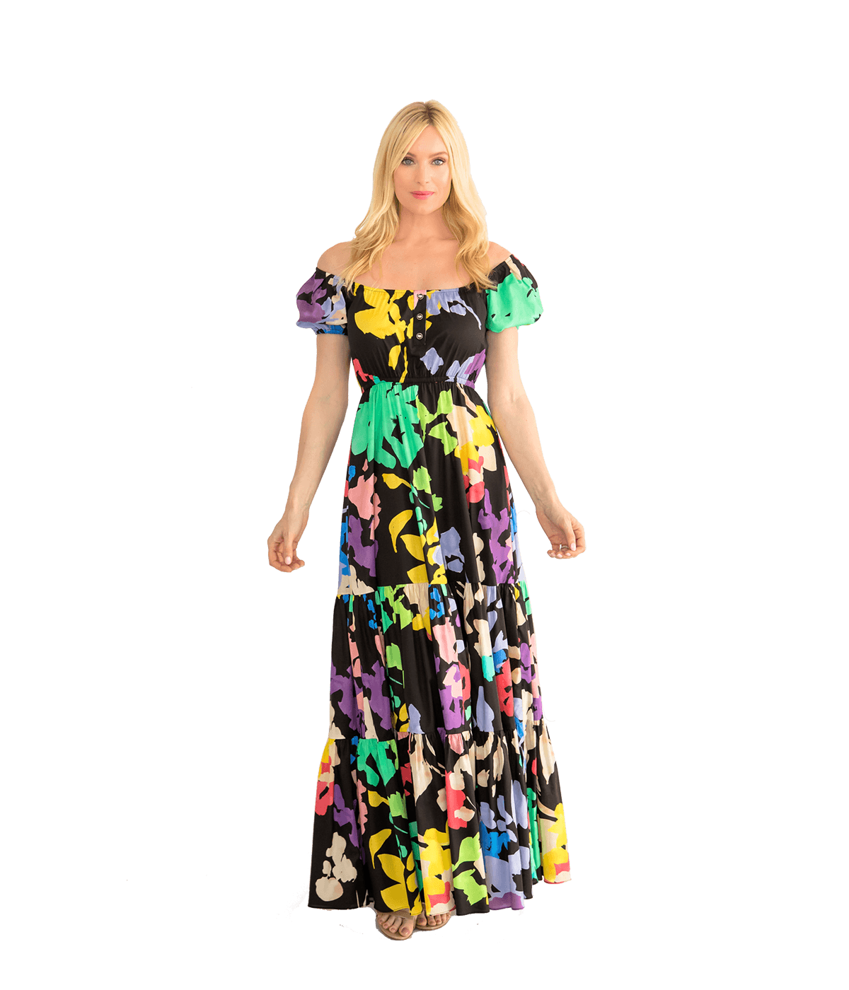 Bardot Maxi Dress - Lady Jetset