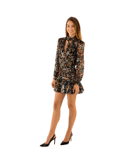 Load image into Gallery viewer, Cordelia Confetti Burnout Mini Dress - Lady Jetset