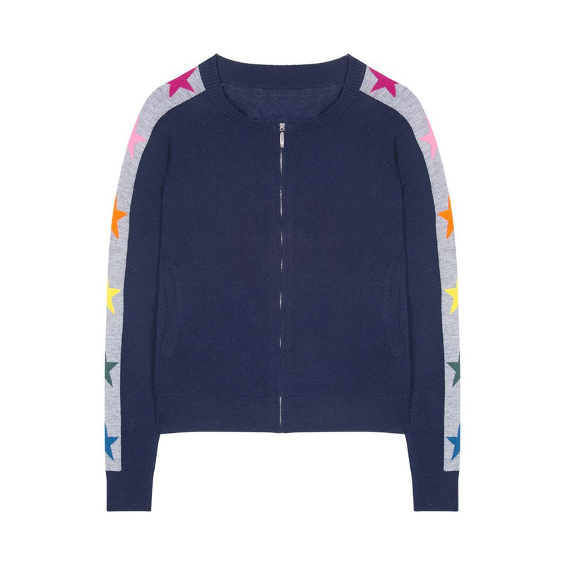 FINAL SALE Polly Stars & Stripe Polly Bomber - Lady Jetset