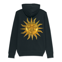 BLACK SUN ZIP HOODY