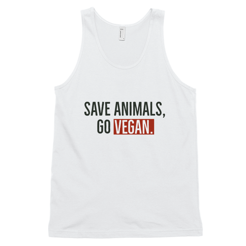 SAVE ANIMALS, GO VEGAN