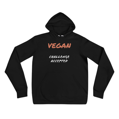 VEGAN CHALLENGE ACCEPTED