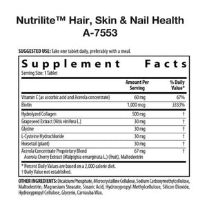 Nutrilite Hair Skin and Nails Supplements