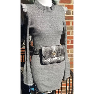 LOCKDOWN MINI DRESS