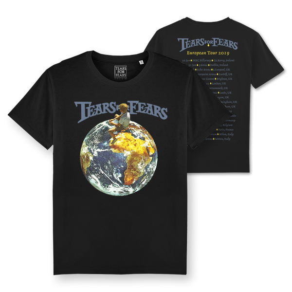 EU 2019 TOUR BLACK T-SHIRT