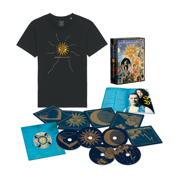The Seeds Of Love - 4CD + Blu-ray + Black T-Shirt