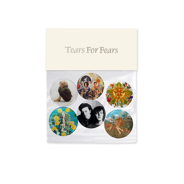 TEARS FOR FEARS 25MM BADGES SET