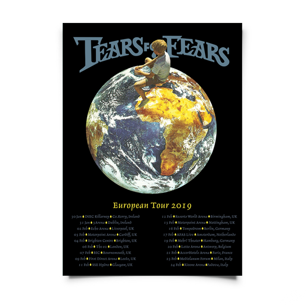 GLOBE 2019 TOUR A2 POSTER (NUMBERED)