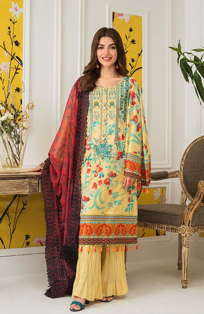 Al Zohaib MEC20 03 Mahnoor Embroidered Collection 2020