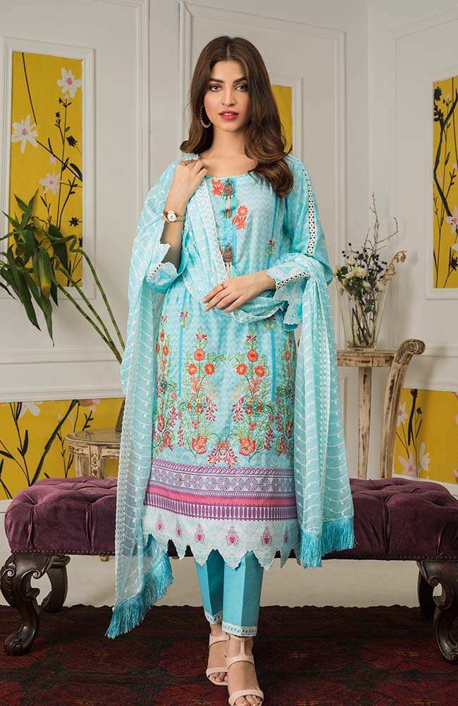 Al Zohaib MEC20 06B Mahnoor Embroidered Collection 2020