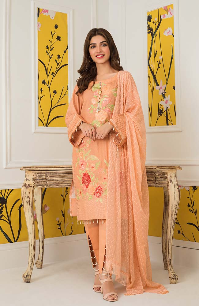 Al Zohaib MEC20 08 Mahnoor Embroidered Collection 2020