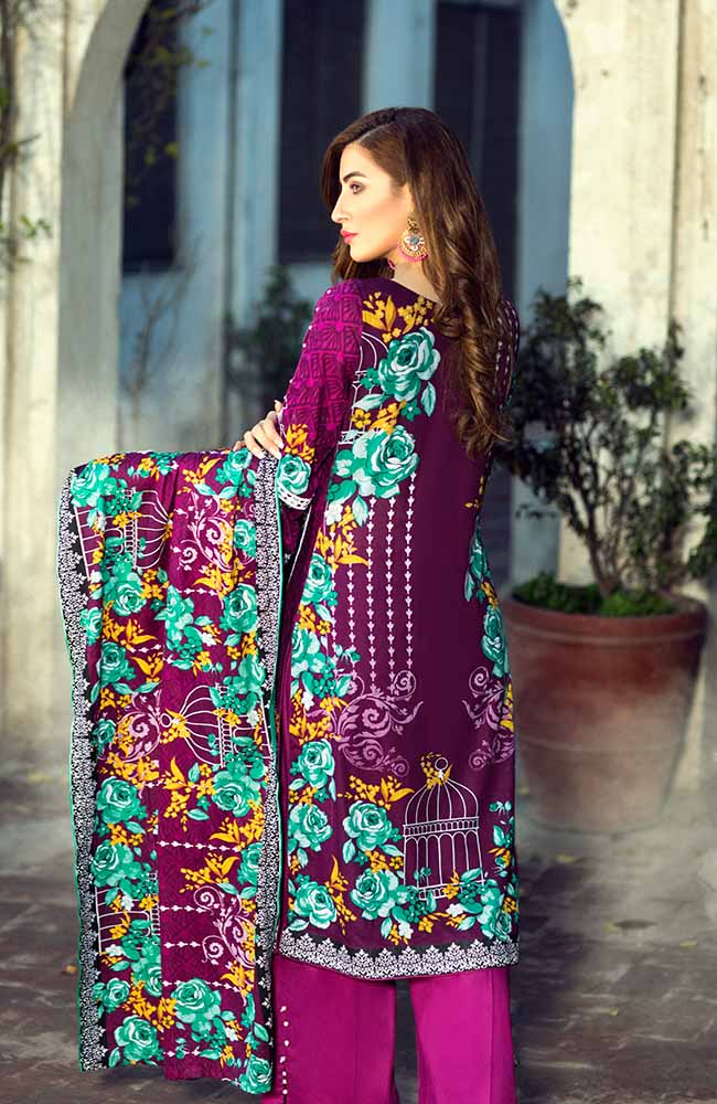 AN19L 10A Anum Lawn Collection 2019