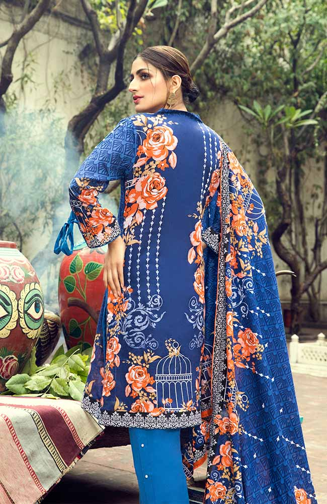AN19L 10B Anum Lawn Collection 2019