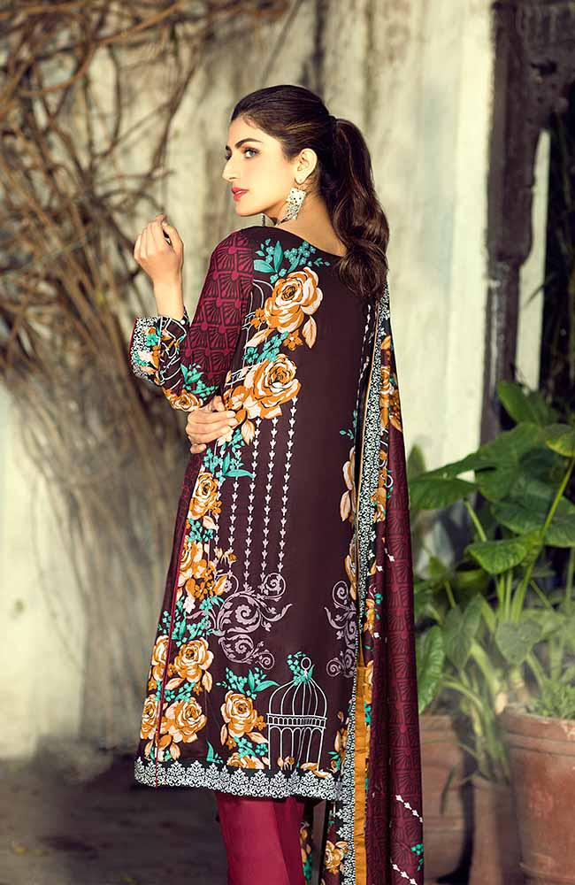 AN19L 10C Anum Lawn Collection 2019
