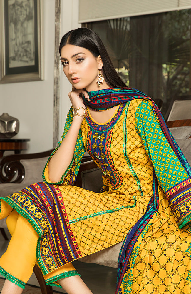AN19L2 09A Anum Lawn Vol 2 2019