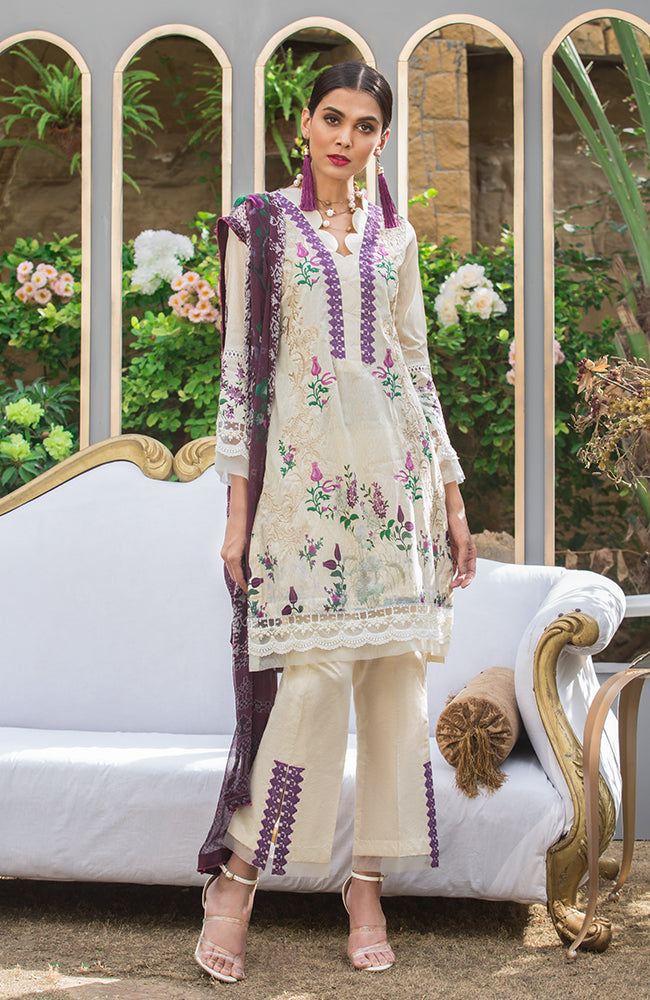 SA19L EMB-05A Summer Affair Embroidered