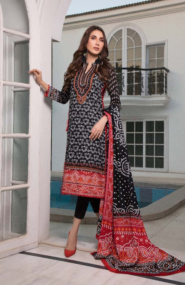 CL2-13A Colors Printed Lawn'19 Vol 2