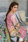 Sunshine Bloom Cotton Silk Collection by ALZOHAIB - 3 Piece Printed Unstitched Suit SB 16