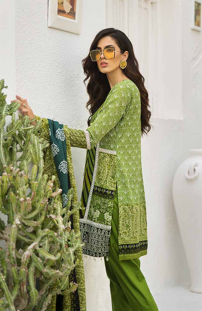 CL-01B Colors Printed Lawn'19