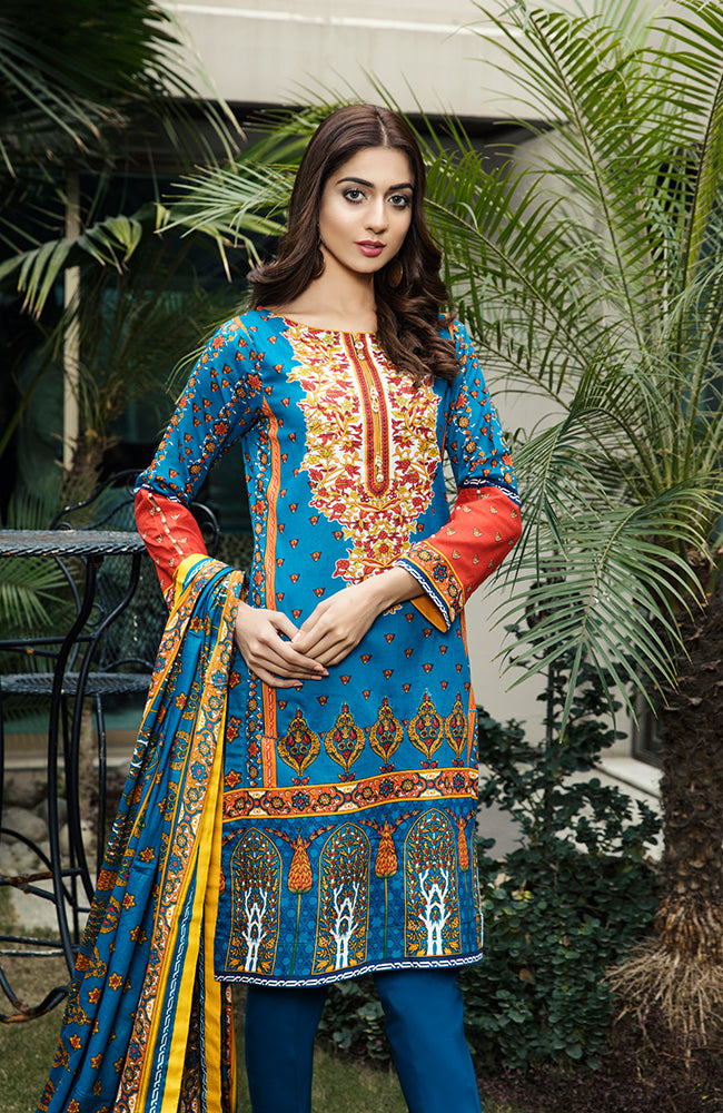 AN19L2 02B Anum Lawn Vol 2 2019