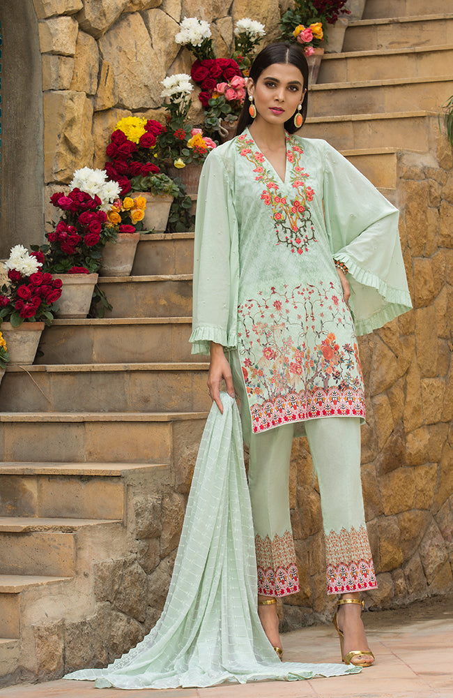 SA19L EMB-03B Summer Affair Embroidered