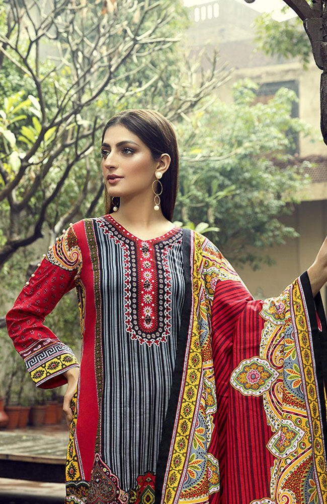 AN19L 9A Anum Lawn Collection 2019
