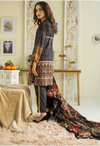 Sunshine Bloom Cotton Silk Collection by ALZOHAIB - 3 Piece Printed Unstitched Suit SB 21