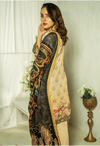 Sunshine Bloom Cotton Silk Collection by ALZOHAIB - 3 Piece Printed Unstitched Suit SB 23
