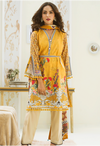 Sunshine Bloom Cotton Silk Collection by ALZOHAIB - 3 Piece Printed Unstitched Suit SB 25