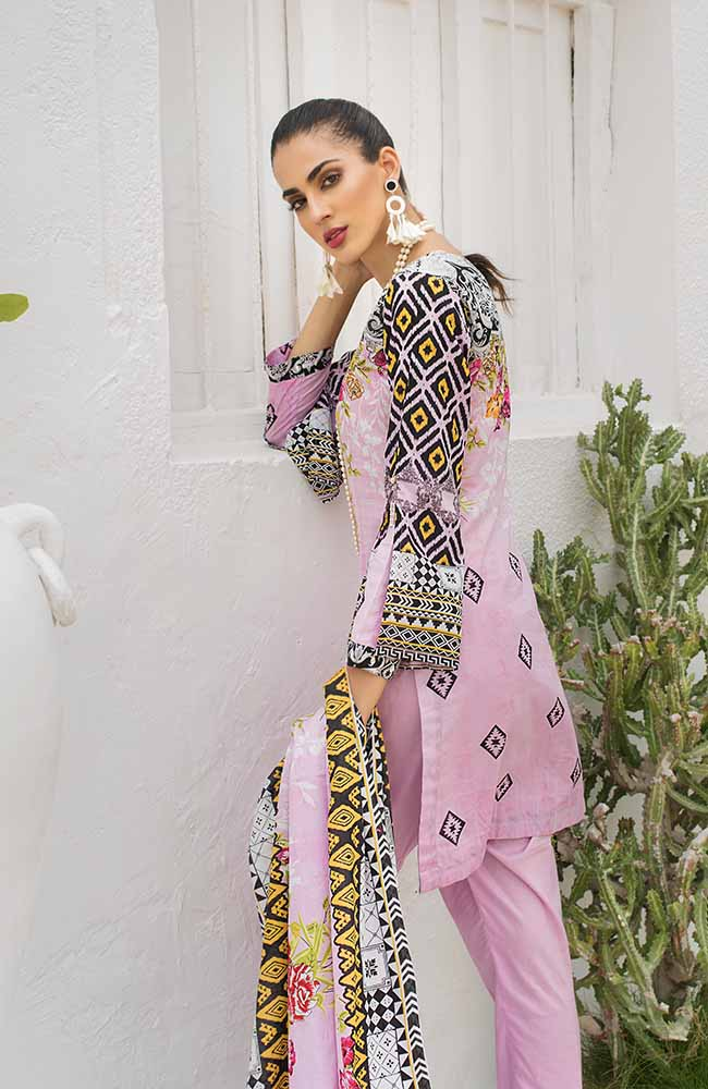 CL-07A Colors Printed Lawn'19