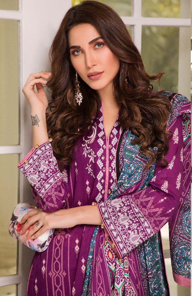 CL2-02A Colors Printed Lawn'19 Vol 2