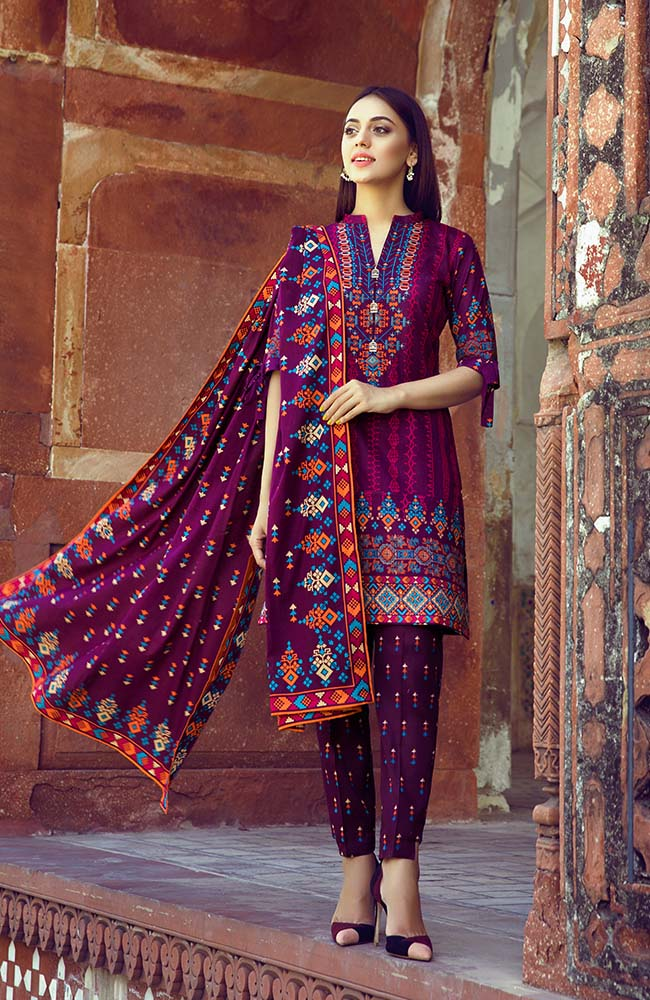 AN19L3 02B Anum Lawn Vol 3 2019