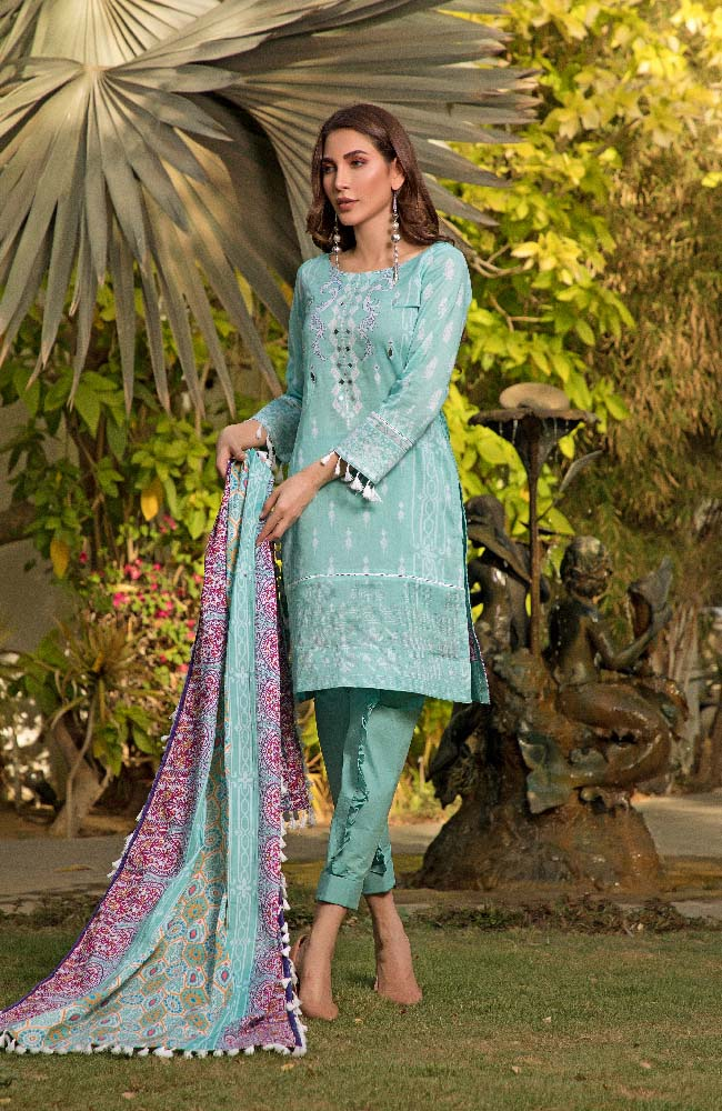 CL2-02B Colors Printed Lawn'19 Vol 2