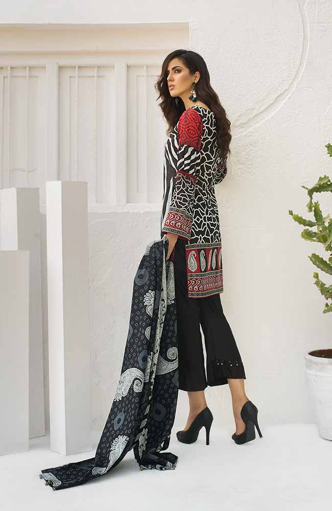 CL-05A Colors Printed Lawn'19