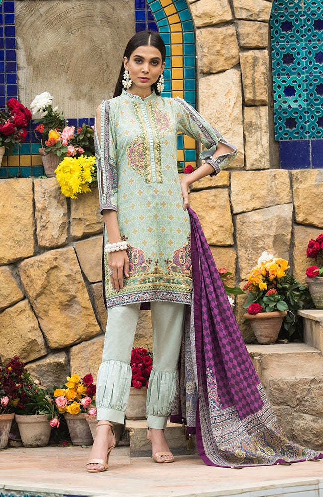 SA19L EMB-01B Summer Affair Embroidered