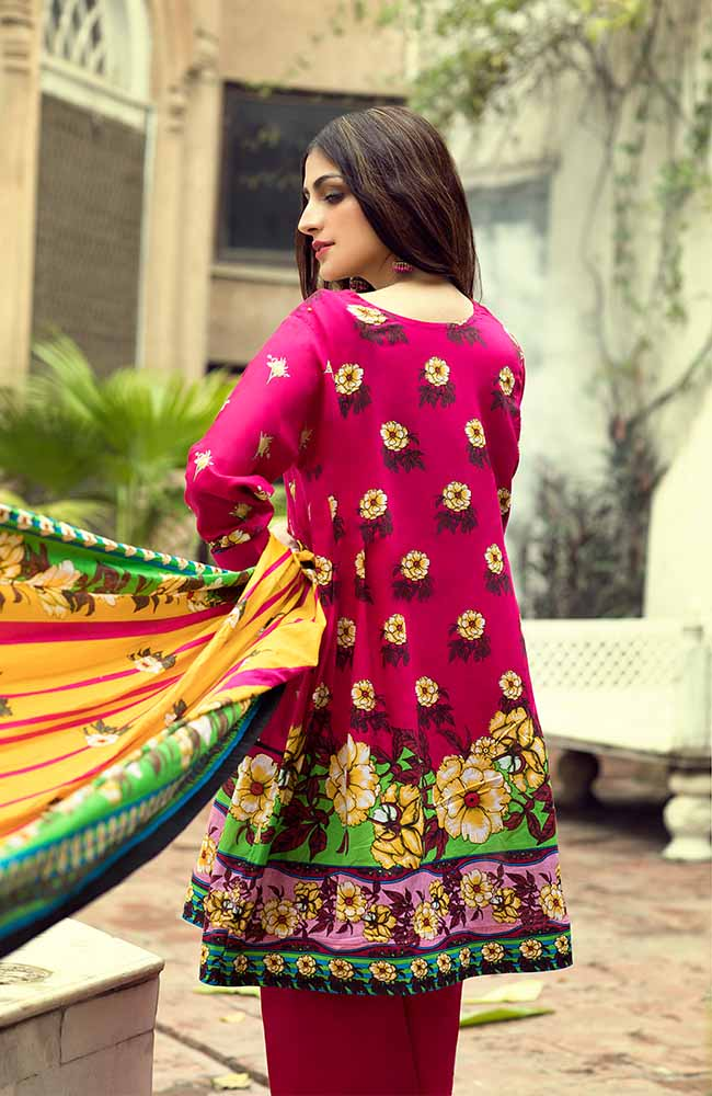 AN19L 2B Anum Lawn Collection 2019