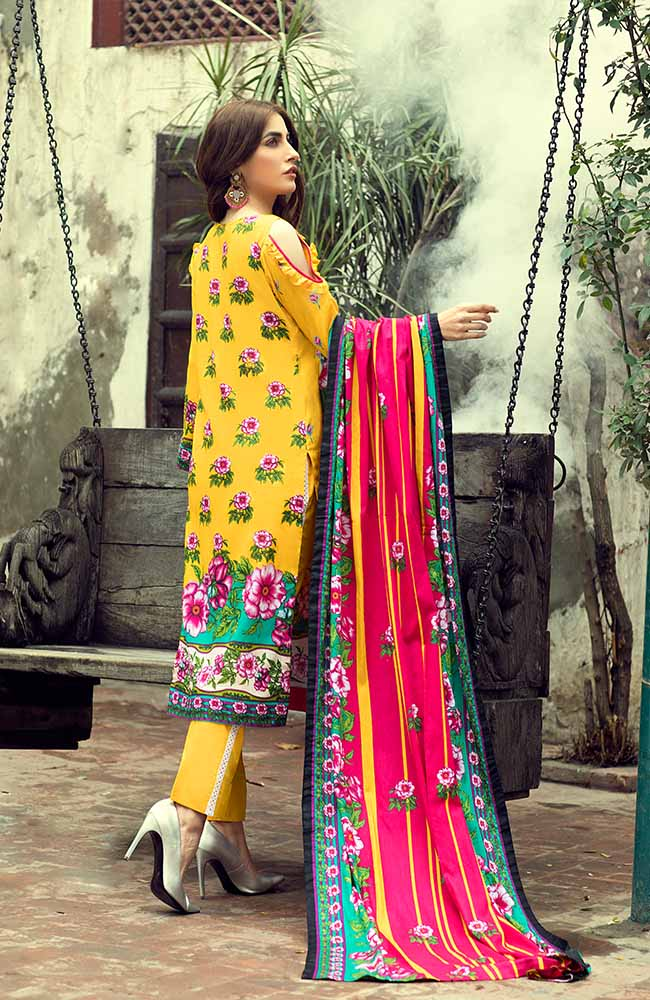 AN19L 2C Anum Lawn Collection 2019