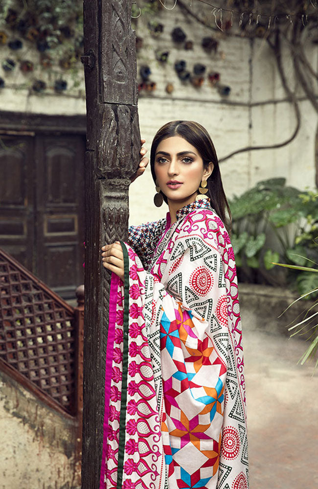 AN19L 5B Anum Lawn Collection 2019
