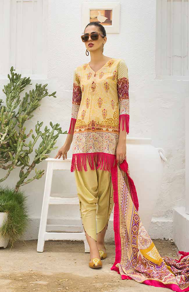 CL-06A Colors Printed Lawn'19